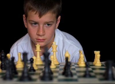 Junior XXXX took up chess as a hobby during shelter-in-place.