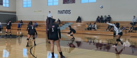 Junior Varsity playing against Mountain View Academy